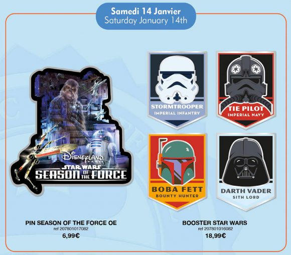 Disneyland Paris Pin Releases – January 14th 2017