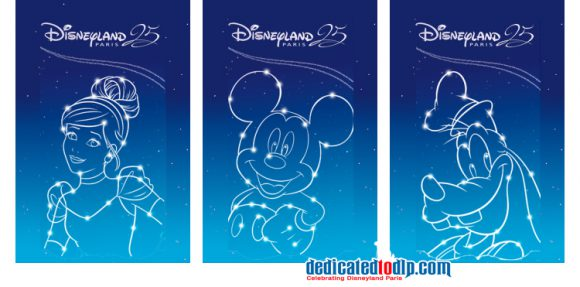 Disneyland Paris 25th Anniversary Tickets