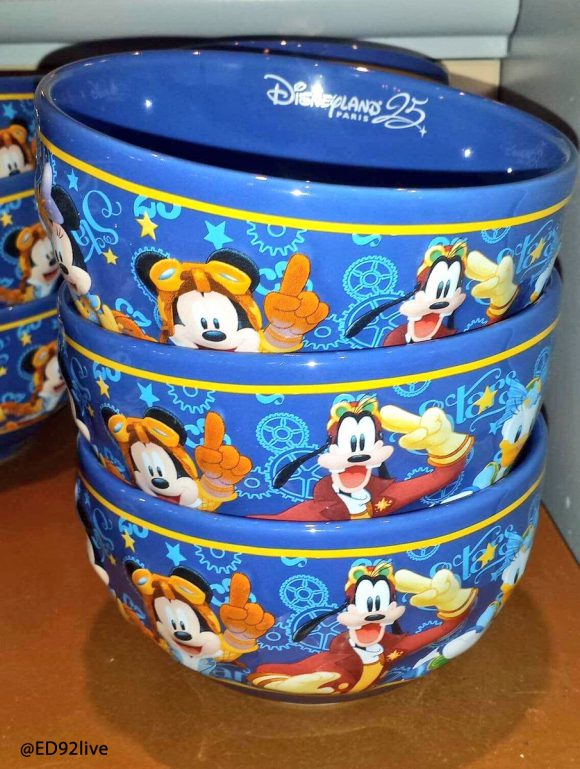 Disneyland Paris 25th Anniversary Breakfast Bowl