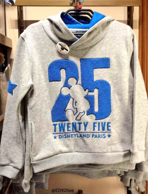 Disneyland Paris 25th Anniversary Hoody