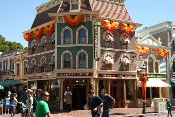 Starbucks Market House in Disneyland