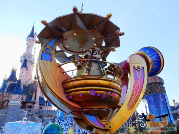 Disney Stars on Parade Float 1 - Discover the Magic