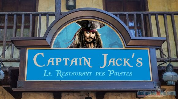 Disneyland Paris News: Blue Lagoon to be Renamed Captain Jack's