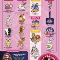 Disneyland Paris Pins For July 2017 - Animals, Cars, Droids & Fireworks!