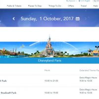 Disneyland Paris News: Extra Magic Hours Dropping To 1 Hour From October