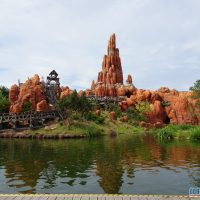 Big Thunder Mountain in Disneyland Paris