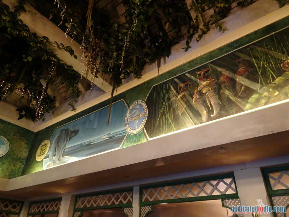 Colonel Hathi's Pizza Outpost in Disneyland Paris