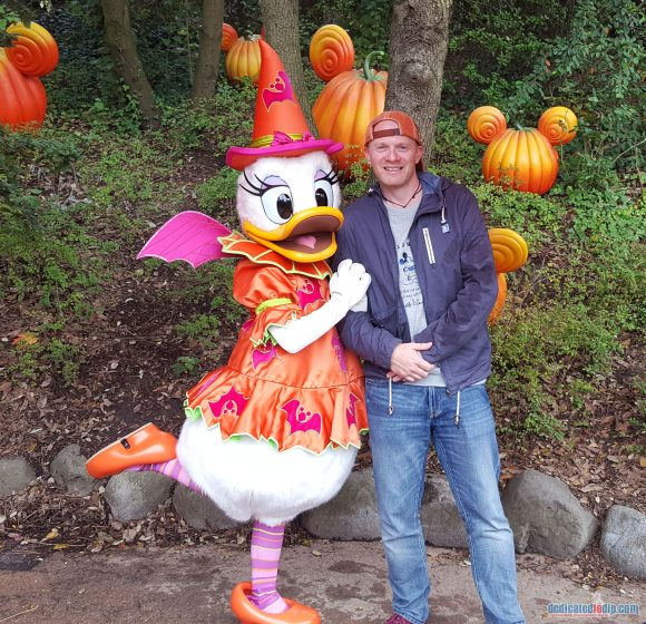 Disneyland Paris Review: Halloween Season 2017 - Characters