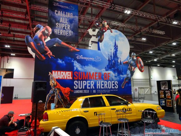 Disneyland Paris at MCM Comic Con London to Launch Marvel Season of Super Heroes in 2018