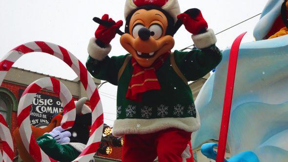 Disneyland Paris Christmas 2017