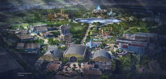 Disneyland Paris €2 Billion Walt Disney Studios Expansion