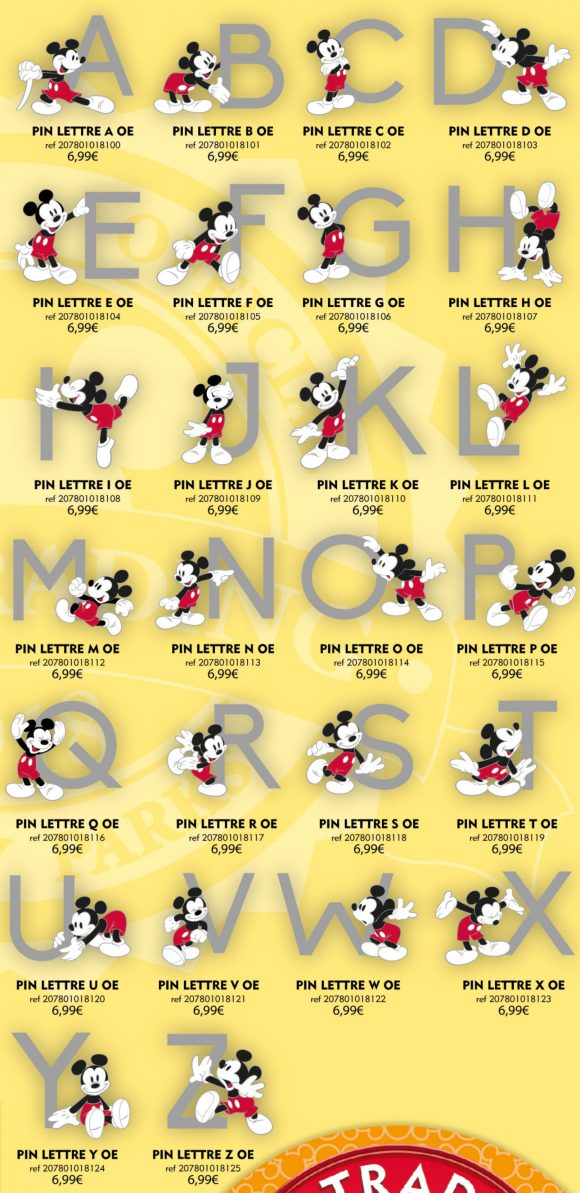 Disneyland Paris Pins For July 7th 2018