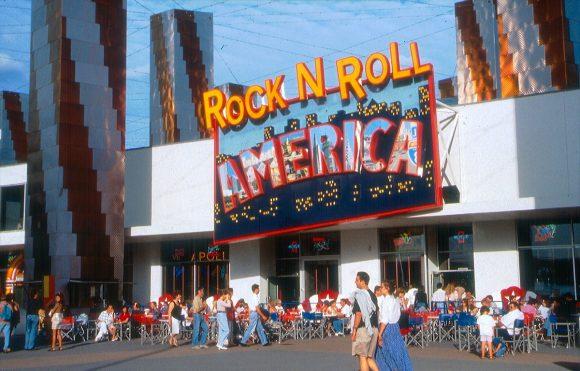 Rock 'n Roll America in Disney Village, Disneyland Paris