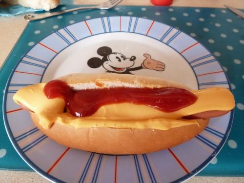 Disneyland Paris Dinner At Home – Casey's Corner Hot Dogs