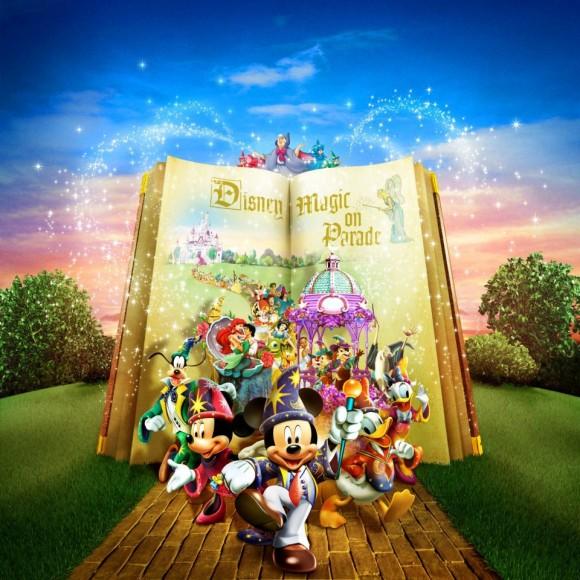 The Lyrics for Disneyland Paris 20th Anniversary Disney's Magic on Parade have been revealed