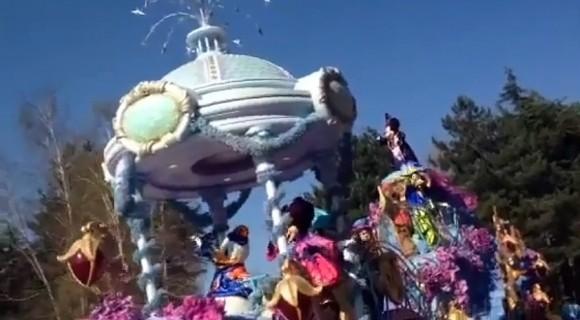Video of Disney Magic on Parade Première in Disneyland Paris
