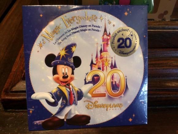 Disneyland Paris 20th Anniversary Magic Everywhere CD