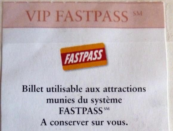 Disneyland Paris 20th Anniversary Trip Thoughts: VIP Fastpass