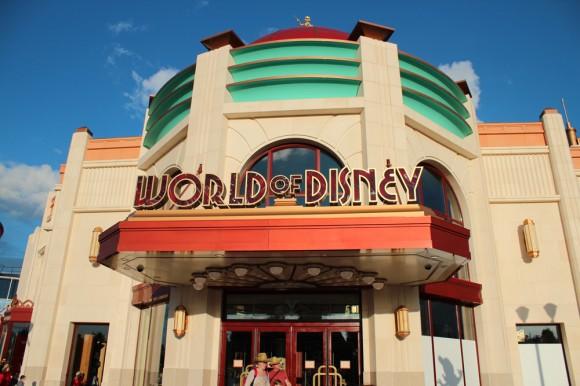 World of Disney Store in Disneyland Paris