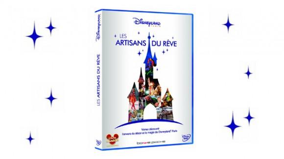 Disneyland Paris Les Artisans du Rêve DVD (The Dream Makers)