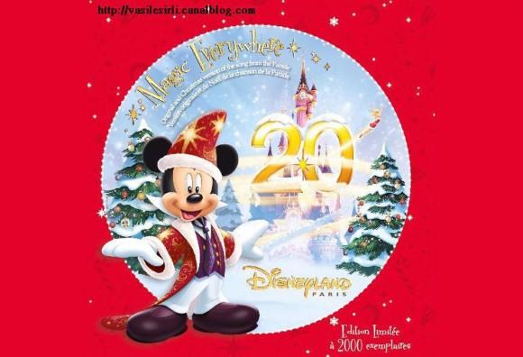 Disneyland Paris Magic Everywhere Christmas Orchestra Version CD