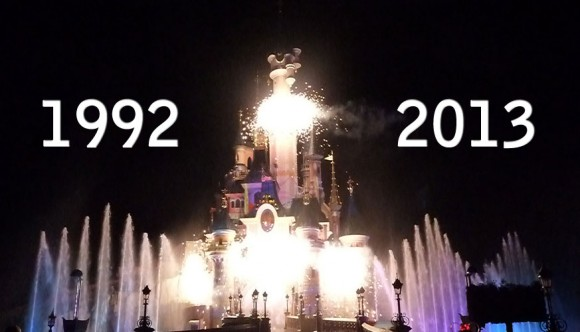 Celebrating 21 Years of Disneyland Paris