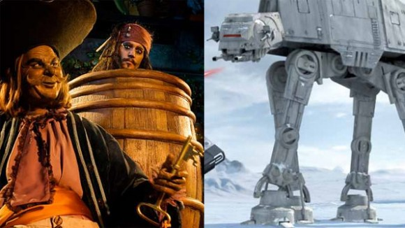 2015 in Disneyland Paris – Captain Jack in Pirates of the Caribbean or Star Tours: The Adventures Continue?