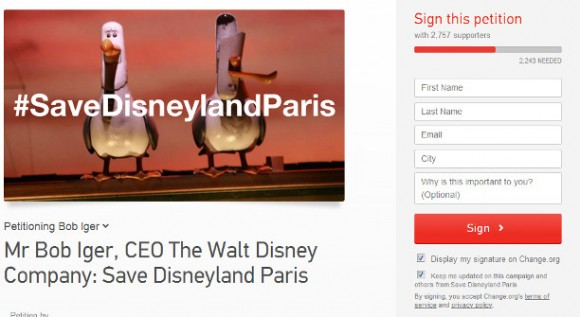 Petition to Save Disneyland Paris – Does it Need Saving?