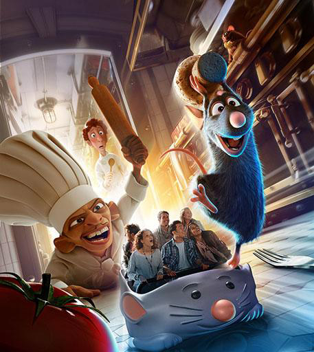 Ratatouille: The Totally Crazy Adventure of Remy