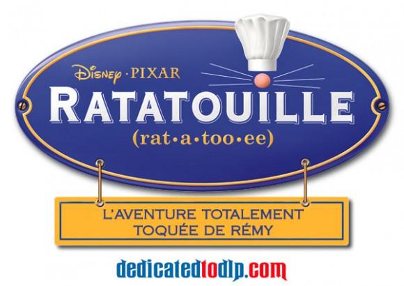 Ratatouille : L'Aventure Totalement Toquée de Rémy Sign