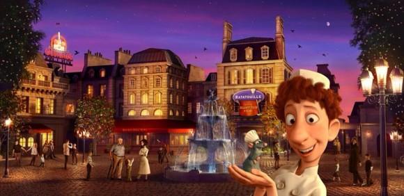 New Disneyland Paris Concept Artwork for Ratatouille