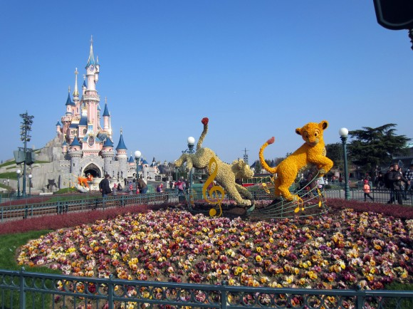 Swing into Spring in Disneyland Paris