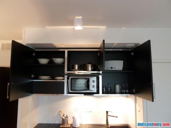 Kitchen of Studio at Hipark Serris-Val d'Europe