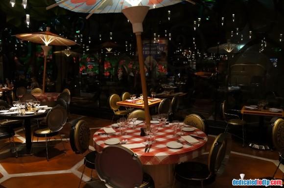 Ratatouille: The Adventure Fan Event. Bistrot Chez Rémy