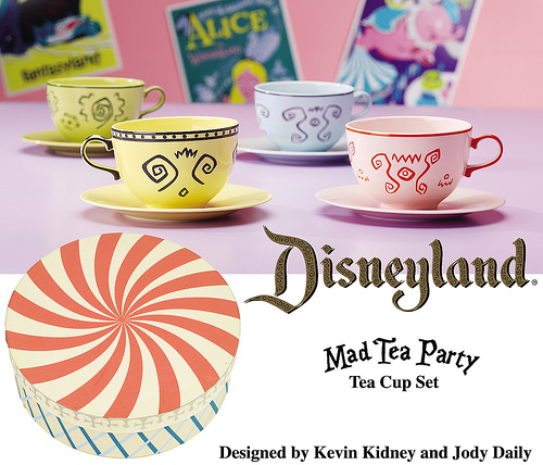 Mad Tea Party Tea Cup Set by Kevin Kidney and Jody Daily