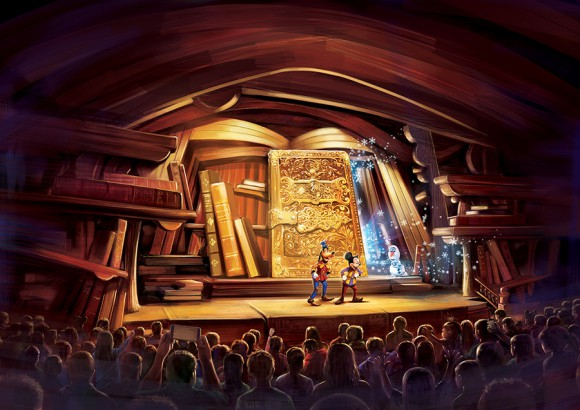 Could Hong Kong Disneyland's Mickey and the Wondrous Book be Coming to Disneyland Paris to Replace Animagique?