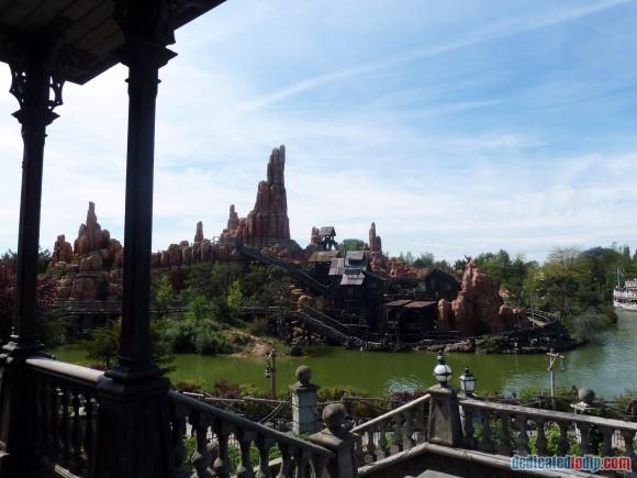 Big Thunder Mountain & Rivers of the Far West in Disneyland Paris