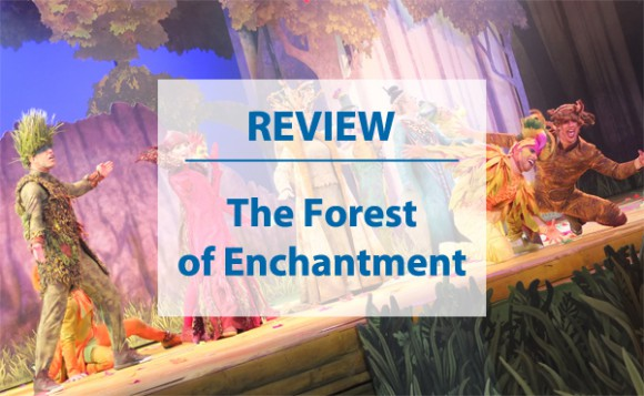 Review of The Forest of Enchantment in Disneyland Paris