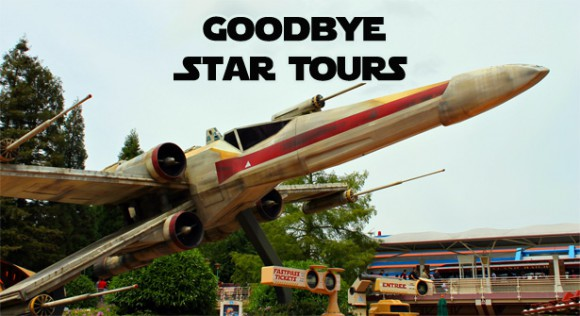 Soon we will say goodbye to the original Star Tours in Disneyland Paris
