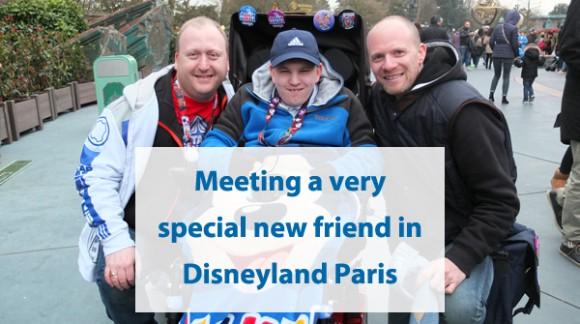 Meeting a very special new friend in Disneyland Paris