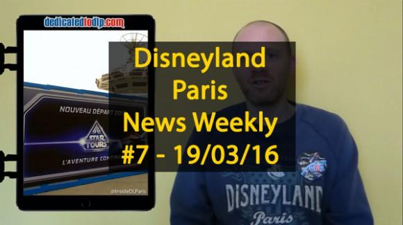 Disneyland Paris News Weekly #7: Star Tours, Spring, Food, Studios, St Patrick's Day