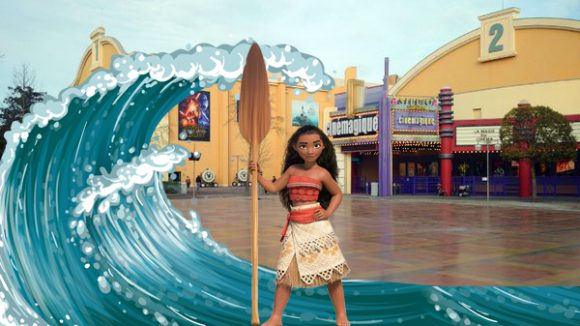 Character of Moana Coming to Disneyland Paris for Christmas 2016