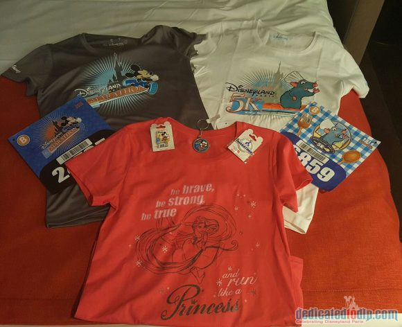 Disneyland Paris runDisney Diary Day 1 - Merchandise