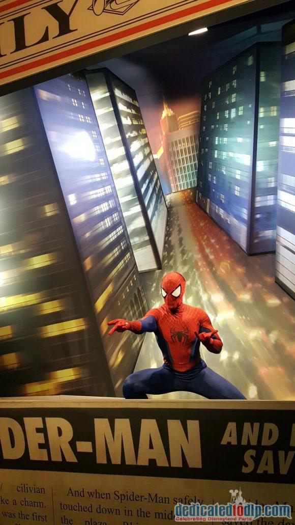 Disneyland Paris runDisney Diary Day 2 – Inaugural Party with Spider-man