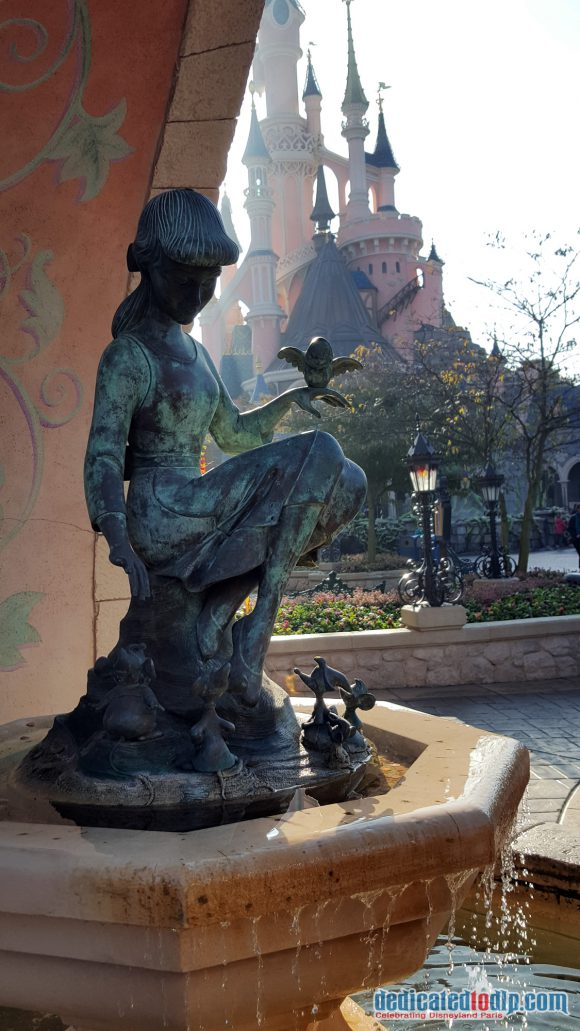 Cinderella Fountain in Fantasyland, Disneyland Paris