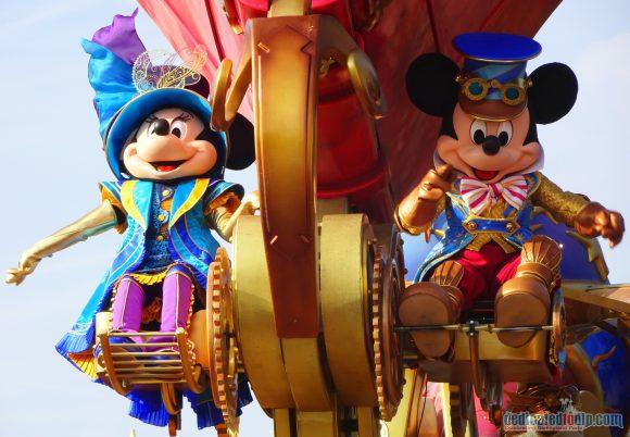 Disney Stars on Parade in Disneyland Paris