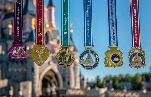 runDisney Disneyland Paris 2017 Medals