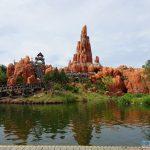 Big Thunder Mountain in Disneyland Paris