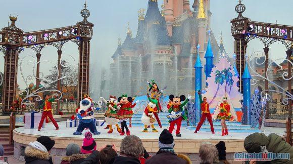 Disneyland Paris Christmas 2017 - A Merry Stitchmas