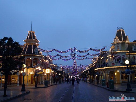Disneyland Paris Christmas 2017 - Decorations